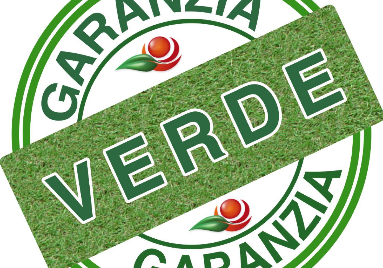 Logo garanzia verde